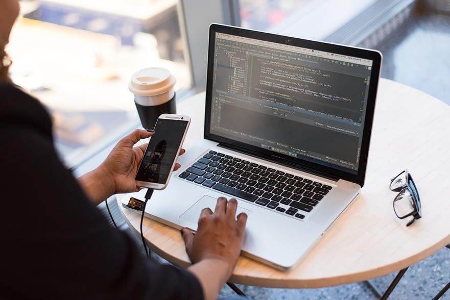 The web developer roadmap consists of code.