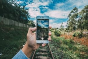 Responsive web development optimizes websites for your smartphone screen.